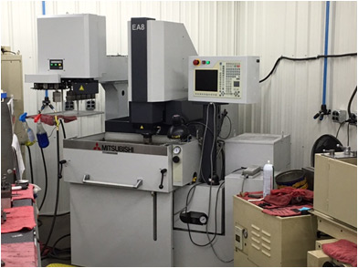 tooling edm machine